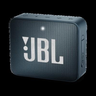 JBL GO2 - Altavoz Bluetooth Impermeable Ultra Portátil, Color Azul Marino