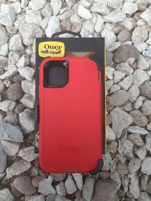 Case Otter Box iPhone 11 Defender Series, Rojo