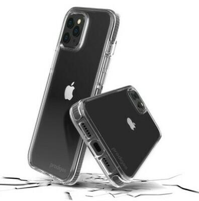 Case Prodigee Safetee Steel para iPhone 12 Pro Max, Transparente