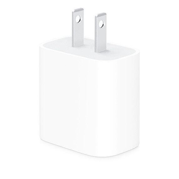 Adaptador de corriente USB-C de 20W de Apple
