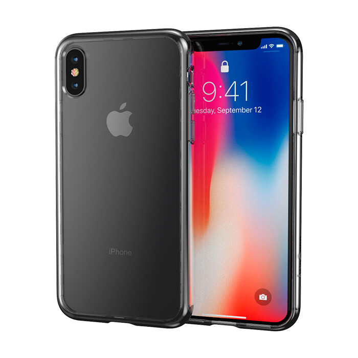 Case Arts Case Impact Hybrid Series para iPhone X, Transparente