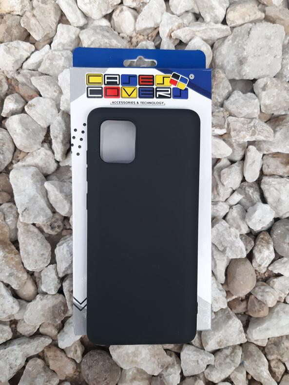 Case de silicona Samsung Galaxy Note10 Lite, Negro