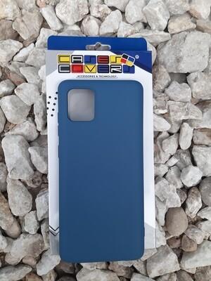 Case de silicona Samsung Galaxy Note10 Lite, Azul Marino
