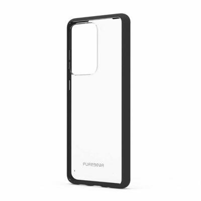 Case Puregear Samsung Galaxy S20 Ultra Slim Shell - Transparente/Negro