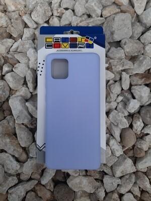 Case de silicona Samsung Galaxy Note10 Lite, Lila