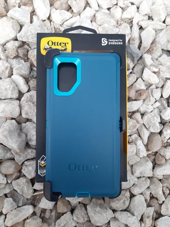 Case Otter Box Defender Series Samsung Galaxy Note10+, Azul