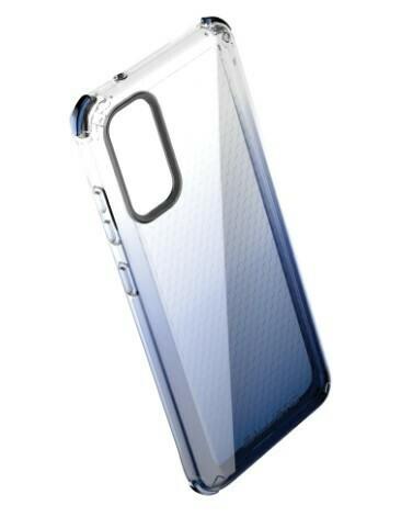 Case Ballistic Serie Jewel Spark Samsung Galaxy S20, Color Azul Degradado