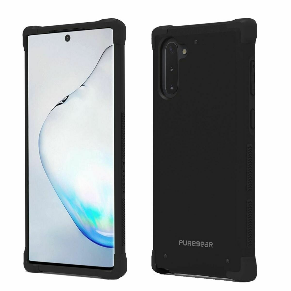 Case Puregear Dualtek Samsung Galaxy Note10 - Negro / Negro
