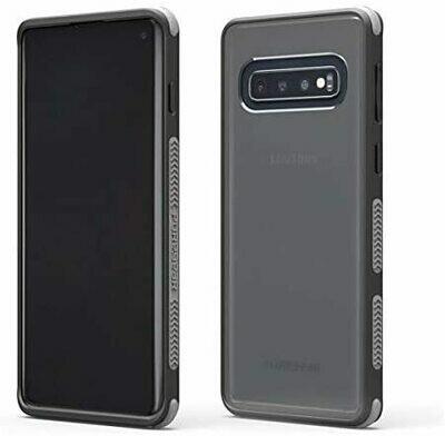 Case PureGear Dualtek Samsung S10+ - Transparente / Negro