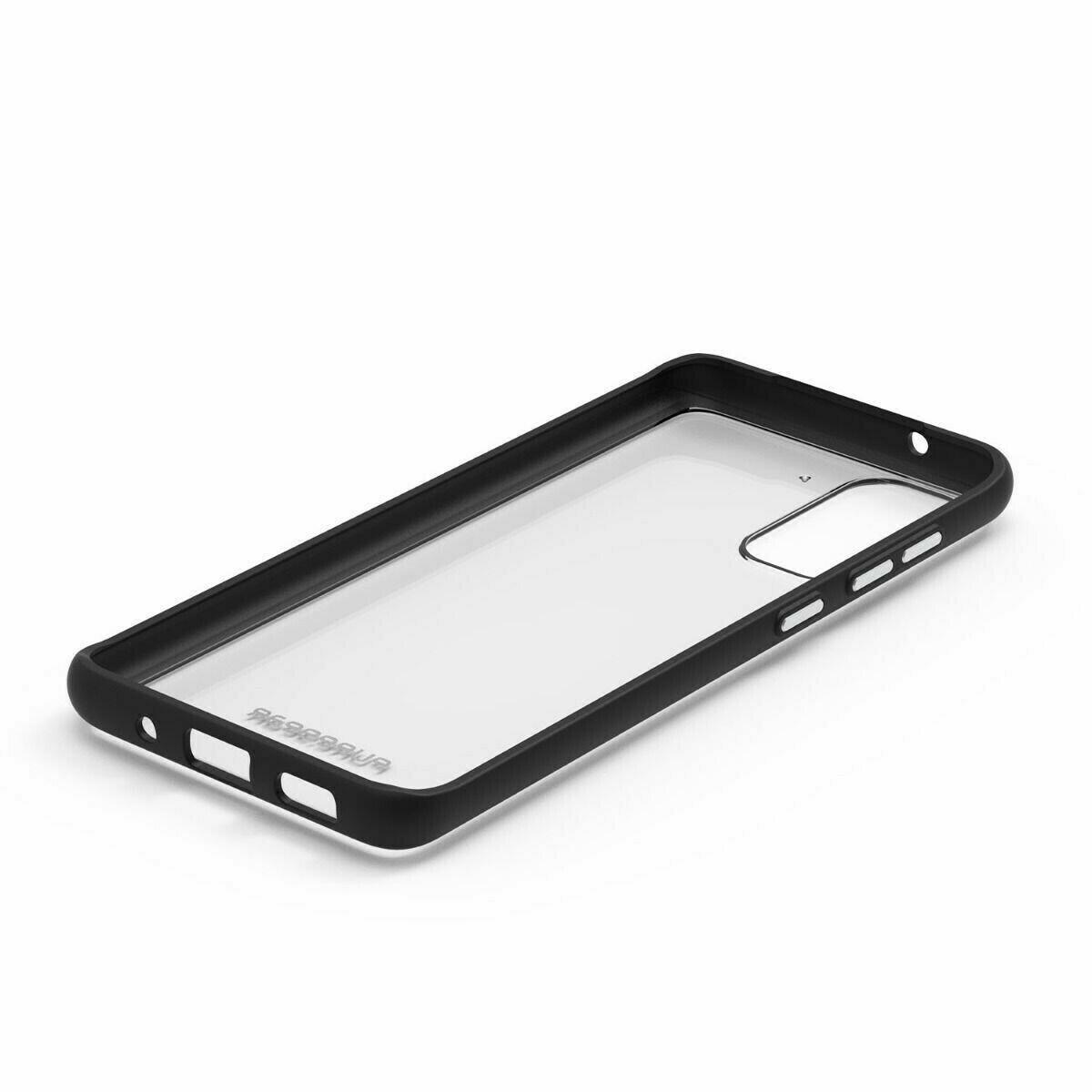 Case Puregear Slim Shell  Samsung Galaxy S20+- Transparente / Negro