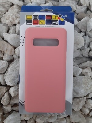 Case de Silicona Samsung Galaxy S10 - Color Rosa