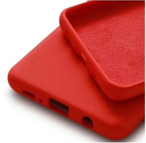 Case de Silicona Samsung Galaxy S10 - Color Rojo