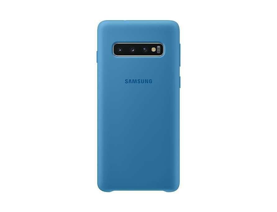 Case de Silicona Samsung Galaxy S10 - Color Azul