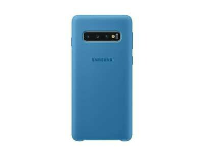 Case de Silicona Samsung Galaxy S10 - Color Azul