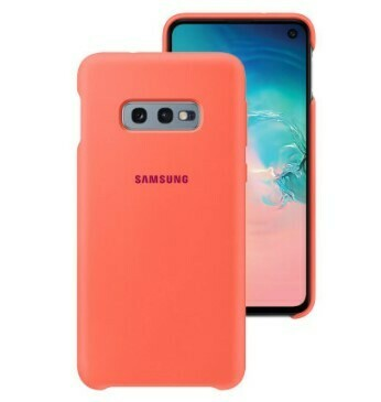 Case de silicona para Samsung Galaxy S10e, Rojo