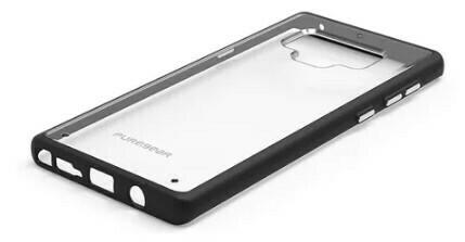 Puregear Slim Shell Samsung Galaxy Note 9, Negro Transparente