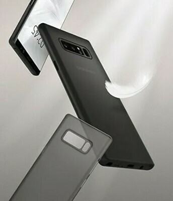 Case Spigen Air Skin samsung Galaxy Note 8, Negro