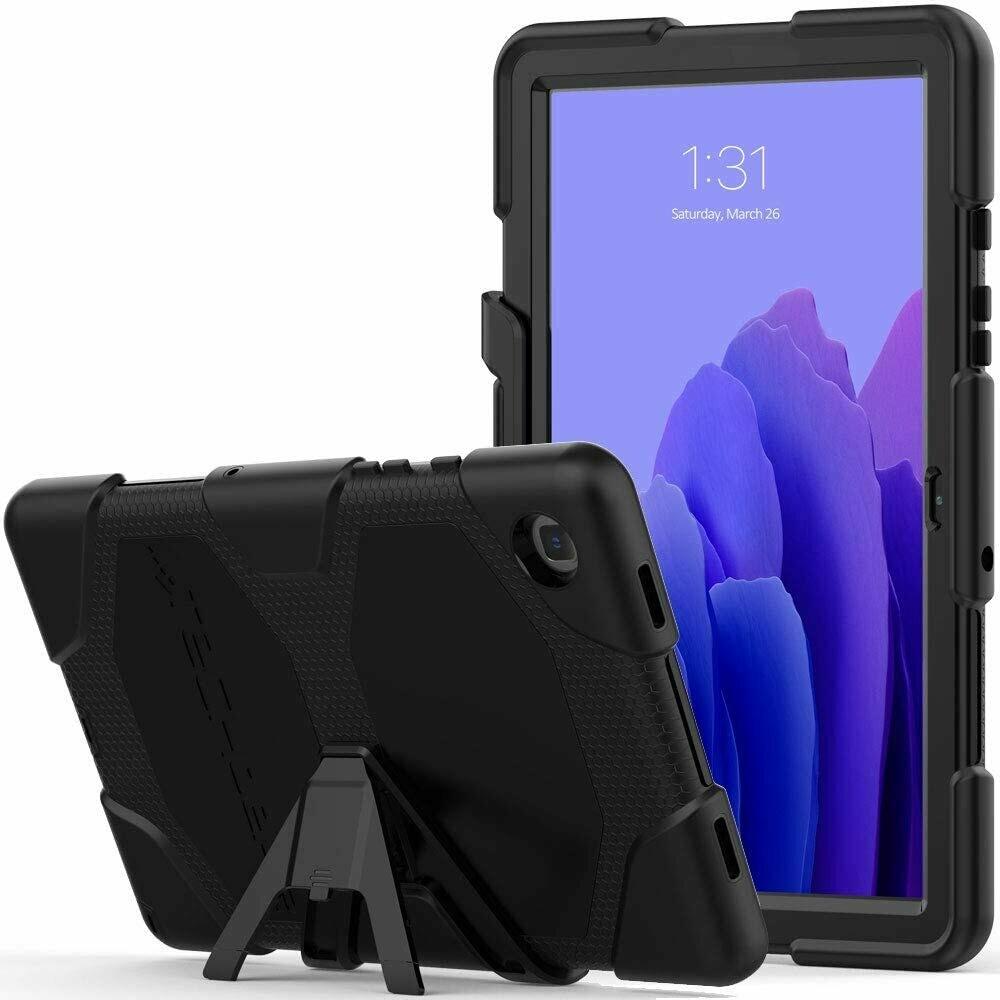 """Case Antishock para Galaxy Tab A7 10.4"""", Color Negro"""