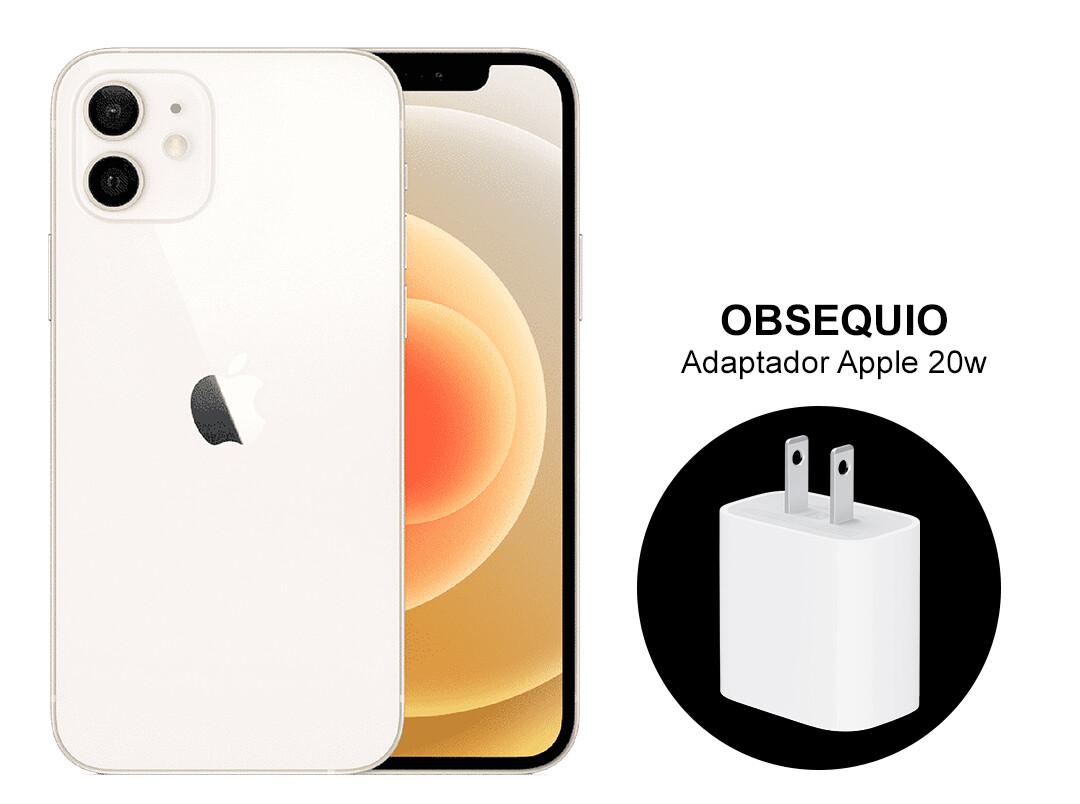 iPhone 12, Capacidad 128GB - Blanco