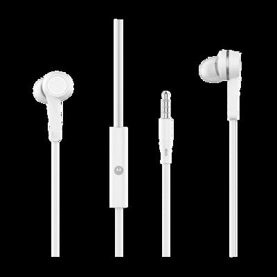 Audífonos Motorola Pace 125 In-ear Manos Libres, Blanco