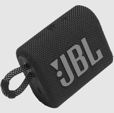 JBL GO3, Negro