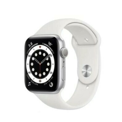 Apple Watch Series 6 - 44mm, Color Blanco