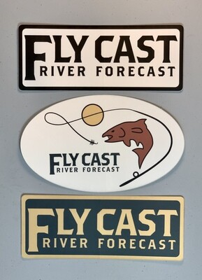 FlyCast Sticker - Combo Pack
