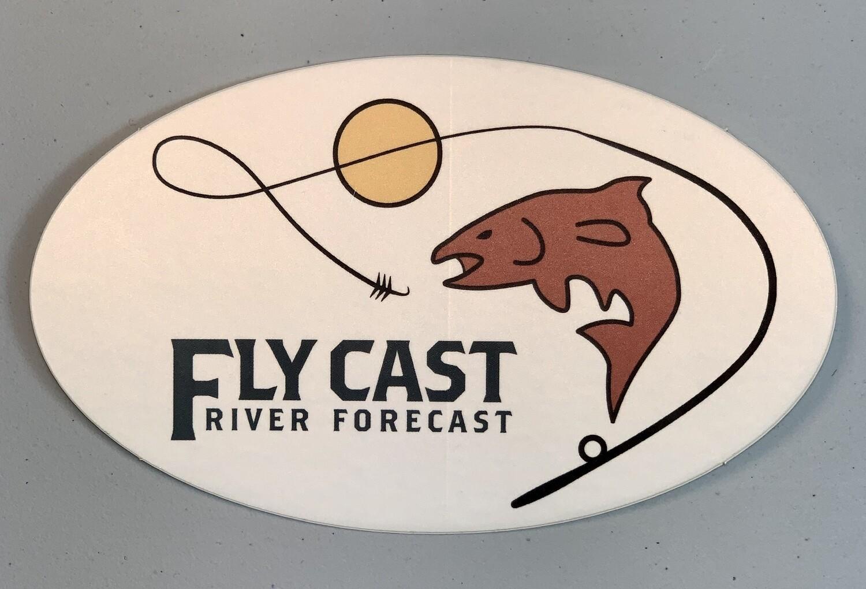 FlyCast Sticker - Original Logo