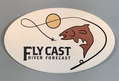 FlyCast Sticker - Original Logo