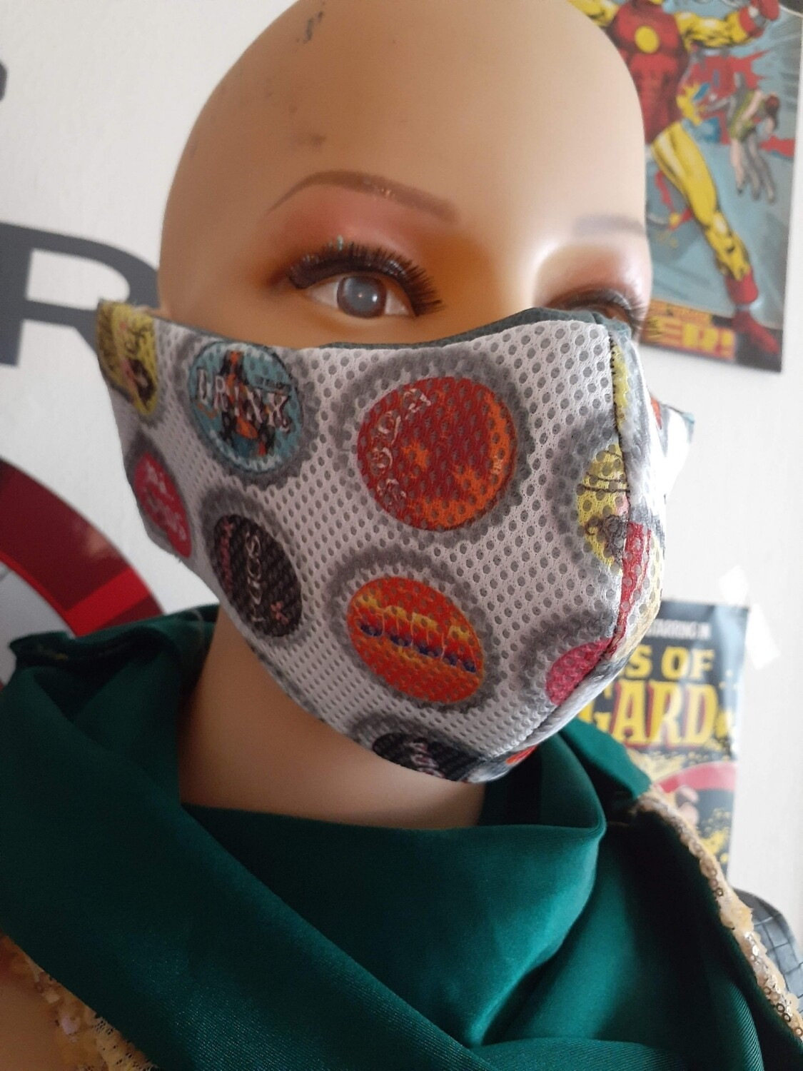 BOTTLECAP MASK