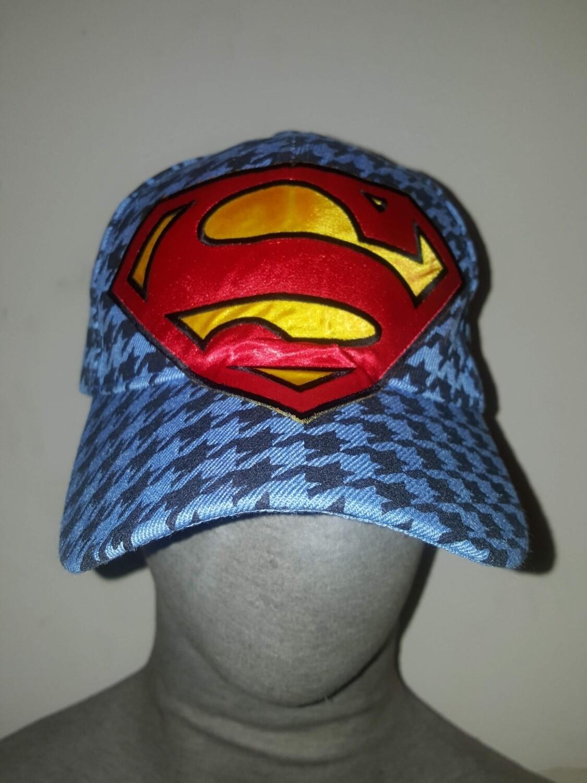SUPERMAN DISTRESS HAT