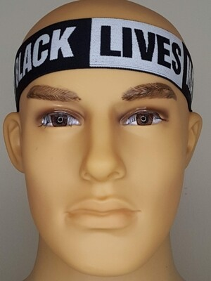 BLACK LIVES MATTER HEADBAND