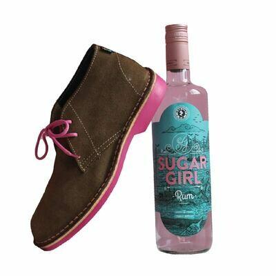 Veldskoen and Sugar Girl Rum
