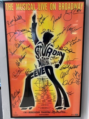 Saturday Night Fever - Signed Broadway Poster