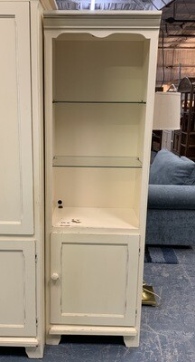 Riverside Right-Opening Display Cabinet