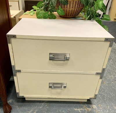 Trunk-style Nightstand