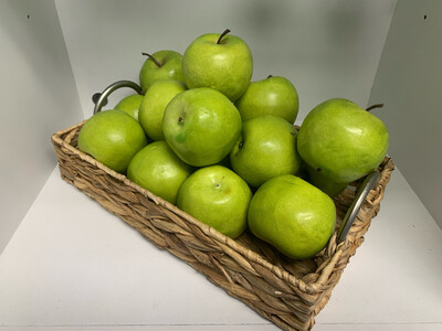 Basket of Faux Apples