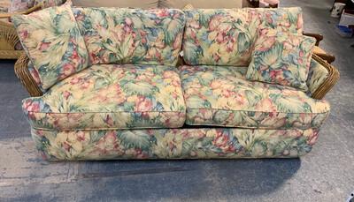 Queen Floral Sleep Sofa