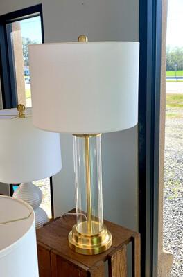 Johnathan Glass LED Lamp