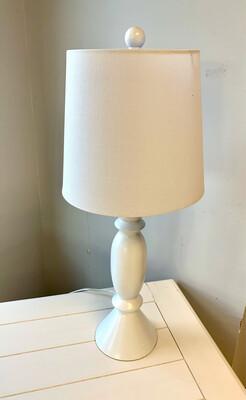 White Base Table Lamp