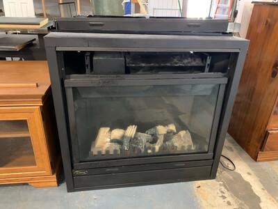 Interior/Exterior Fireplace