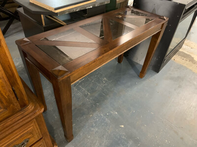 Console Marble Inlay