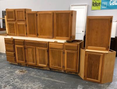 Full Set Kitchen Cabinets