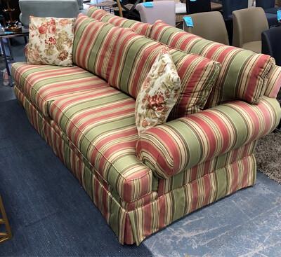 Striped Sofa & Loveseat Set
