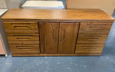 Long Wood  Dresser