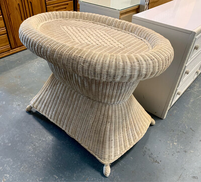 Wicker Occasional Table