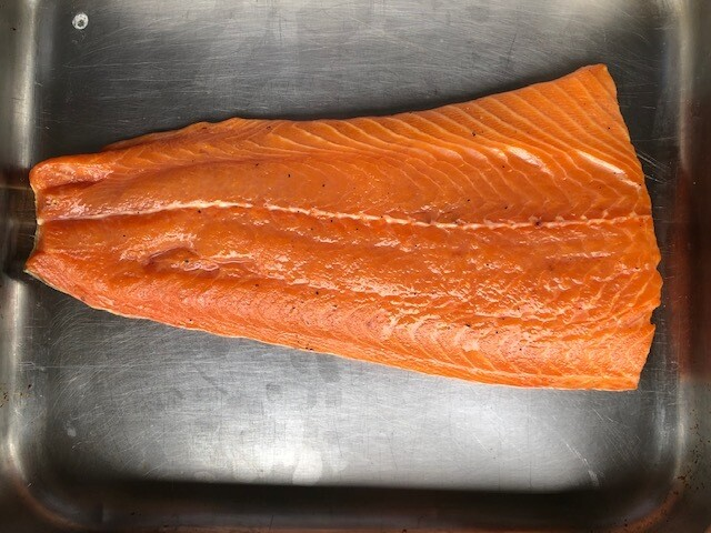 Simpers Cold Smoked Salmon 400 to 550g