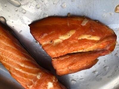 Honey hot roast  salmon 400 to 550g