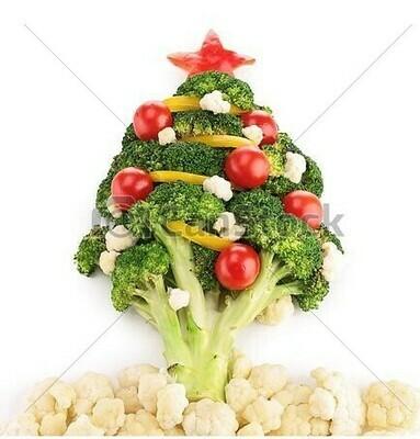 Christmas veg box small