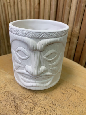 Paint Your Own Pottery - Ceramic   Tiki Cup Painting Kit